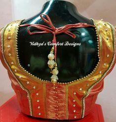 Pattu Saree Blouse Designs, Bridal Blouse Designs, Blouse Neck Designs, Blouse Styles, Chennai, Blouse Desings, Patch Work Blouse Designs, Back Neck Designs, Comfort Design