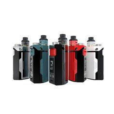 IJOY RDTA BOX Triple Kit comes with a built-in RDTA Tank with huge 12.8 ml juice capacity and special IJOY IMC Interchangeable building deck system, which is powered by triple hihg-rate 18650 batteries and maximum output can be reached to 225W.