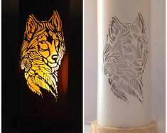 African Giraffe Table Lamp | Etsy