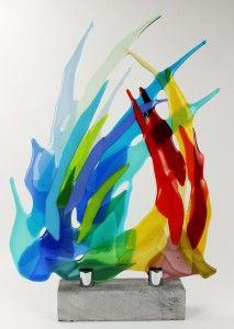 Marijke Kuiphuis maakt glaskunst door Glasfusing - Permanente expositie en verkoop in Ootmarsum - Bekijk nu direct haar portfolio