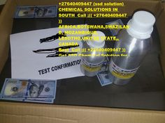 +27640409447 SSD CHEMICAL Solution is the main chemical used in cleaning stained and coated currency {BLACK MONEY}. It is mainly found in 1 litre, 1,5litre and two litre metal insulated containers. SSD chemical used in the cleaning of black stained notes, this chemical compound can be enhanced by adding other catalyst oxides and can be … Money Notes, Chemical Formula, Black Stains, Pretoria, 45 Years, Cape Town, South Africa, Dubai, Canada