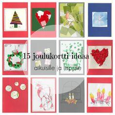 Kuvahaun tulos haulle joulukortti ideoita Advent Calendar, Origami, Diy And Crafts, Christmas Cards, Playing Cards, Holiday Decor, Xmas Trees, Card Ideas, Images