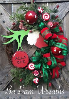 Christmas Wreath, Christmas Decor, Christmas Door, Holiday Wreath, Christmas…
