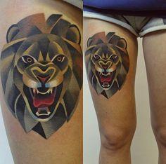 The Coolest Animal Tattoos By Sasha Unisex #tattoos