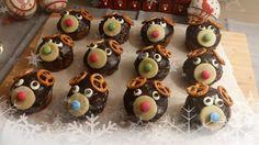 La Fée Stéphanie: Muffins de Noël (chocolat-noisette) pour les enfants, recette végétalienne