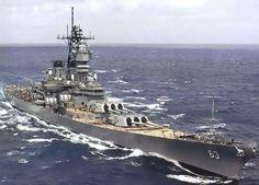 The USS Missouri (BB-63)