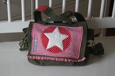 Kindergartentasche Rucksack mit Teddystern