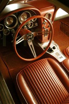 Vintage Cars Classic Photographic Print: Chevrolet Corvette Stingray 1963 by Simon Clay : - Chevrolet Corvette Stingray, 1958 Corvette, Chevy Chevrolet, New Sports Cars, Sport Cars, Chevy Classic, Classic Cars, Retro Cars, Vintage Cars