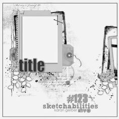 sketchabilities: Sketch Reveal #123- Design Team Reveal Scrapbook Layout Sketches, Scrapbook Templates, Scrapbook Designs, Diy Scrapbook, Card Sketches, Scrapbook Paper Crafts, Scrapbooking Layouts, Photo Sketch, Page Maps