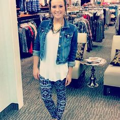 Love these new leggings #maurices #first15