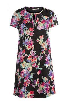 KULFI Japanese Floral Print Cotton Dress £28 plus delivery