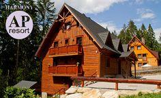 Nie je nad dovolenku v krásnom rodinnom apartmánovom penzióne na Orave. Cabin, House Styles, Home Decor, Decoration Home, Room Decor, Cabins, Cottage, Home Interior Design, Wooden Houses