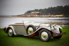 The Mercedes-Benz 1928 680 S Saoutchik Torpedo, winner of Best in Show at the 2012 Pebble Beach Concours d'Elegance. For more information on our classic models, visit here: http://mbenz.us/M13sTP