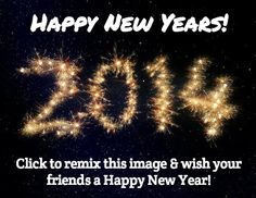Click to remix this image & wish your friends a Happy New Year!