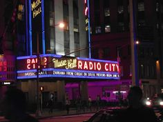 Radio City Music Hall is an entertainment venue located in Rockefeller Center in New York City. Its nickname is the Showplace of the Nation, and it was for a time the leading tourist destination in the city