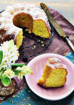 szafranowe ciasto przepis