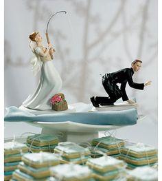 Gone Fishing Wedding Cake Toppers - The Wedding SpecialistsThe Wedding Specialists