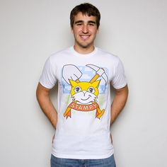 Stampy - Cat Crest Tee - Adult Stampy Cat Minecraft, Maker Shop, Cats, Mens Tops, T Shirt, Shopping, Collection, Fashion, Supreme T Shirt