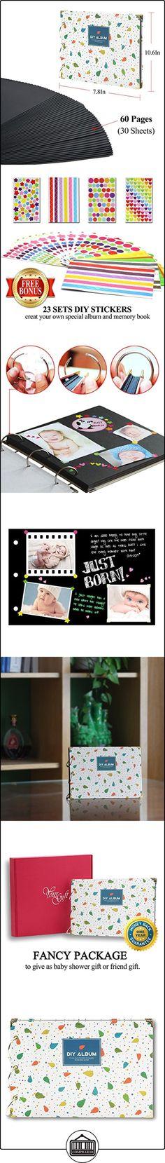 Bebé Álbum - Álbum de Recortes Para Fotos - Regalos de Bebé - with 60 Páginas Negrasa 30 (Hojas) - lto Grado De Embalaje (verde)  ✿ Regalos para recién nacidos - Bebes ✿ ▬► Ver oferta: http://comprar.io/goto/B01N9OIWG0