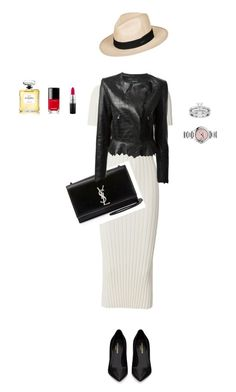 """:)"" by hawaiiikai on Polyvore featuring Helmut Lang, MAC Cosmetics, Chanel, Yves Saint Laurent, Isabel Marant and Roxy"