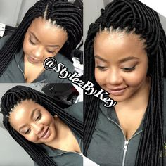 Faux Locs Hairstyles, Crochet Braids Hairstyles, Twist Hairstyles, Protective Hairstyles, Cute Hairstyles, Protective Styles, Black Hairstyles, Best Braid Styles, Hair Twist Styles