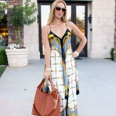 Super easy and affordable Michael Kors scarf dress DIY you don't want to miss.