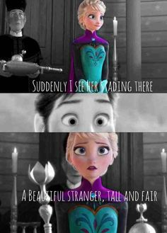 For the first time in forever by ALostDisneyPrincess on DeviantArt Forever Lyric, Elsa And Hans, Frozen Images, Frozen Characters, Self Pity, I Cant Help It, Disney Couples, Cool Animations, Disney Dream
