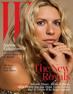 Check out the stunning Homeland star, Claire Danes, on the cover of W magazine! Homeland season 5 premieres October 4th.