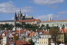 SIGHTS. Prague Castle (prazsky Hrad). Roughly the size of seven football fields, Prague Castle is the largest ancient castle in the world.