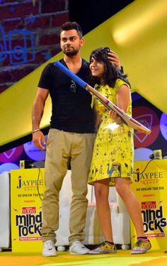 Virat Kohli at India Today Mind Rocks Youth Summit 2013.