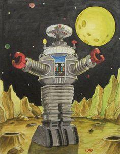 B-9 robot by Bryan Ward
