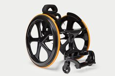 Carbon Fibre Wheelchair by Andrew Slorance - Composites Today say we are 'transforming expectations'