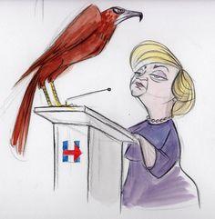 Another bird of prey poses as BirdieClinton! #BirdieSanders #FeelTheBern via @guff232  ( https://twitter.com/guff232/status/714362707751731200 )