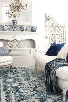 Start with the floor in your room design and add color, texture and movement with a rug. Tips on designing your home on a budget with an elegant designer look.