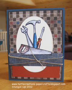 Cute Father's Day Card ~ Stampin' Up!