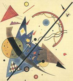Arco e freccia - 1923 - Kandinsky Vassili - Opere d'Arte su Tela - Listino prodotti - Digitalpix - Canvas - Art - Artist - Painting