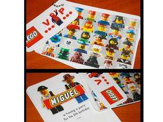 Fiesta de Legos personalizable