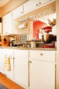 Small kitchen organization -- Apartment Therapy