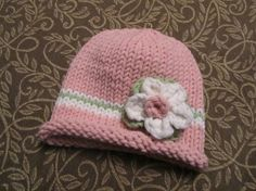 Little lady hat. No pattern.  Inspiration and an etsy shop that sales similar hats