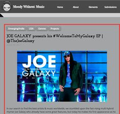 In our search to find the best artists & music worldwide, we stumbled upon the fast rising multi-hybrid rhymer Joe Galaxy who already have some great features, but today he makes his first appe…