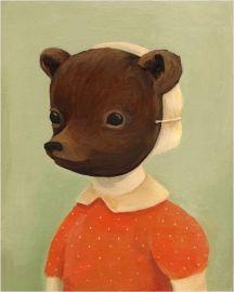 The Black Apple `Prent Bear Disguise`