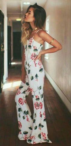 #estampado #floreado #largo #musculosa #tiritas #oxford #hermoso #meEncanta