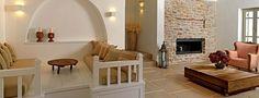 Themonies Luxury Suites, Folegandros...love this space!