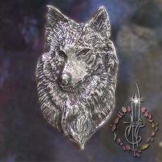 Amulette Loup argent