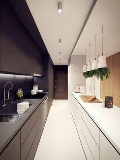Projekt mieszkania w Warszawie