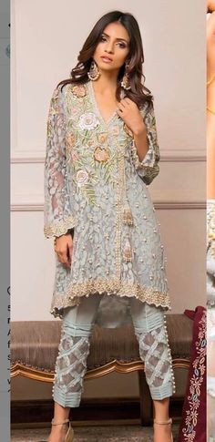 Are you searching for the best quality punjabi bridal suits such as latest punjabi suits Visit the website above press the grey bar for additional alternatives - Pakistani Fashion Casual, Pakistani Outfits, Asian Fashion, Indian Outfits, Fashion Pants, Hijab Fashion, Fashion Outfits, Kurta Designs, Blouse Designs