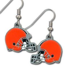Cleveland Browns Earrings Dangle Style Special Order