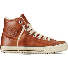 8fbd5c07ada Converse Chuck Taylor All Star Boot – brown Sneakers (€45) ❤ liked on