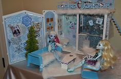 Monster High OOAK Abbey Bominable 2 story House