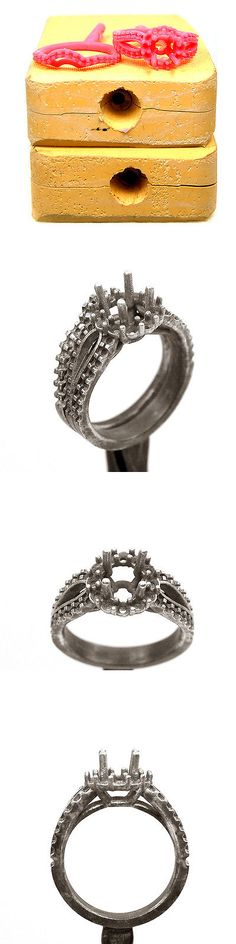 Jewelry Molds 67711: Jewelry Ring Model - Jewelry Rubber Molds - Wax ...